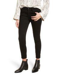 Treasure & Bond - Black Crop Skinny Jeans - Lyst