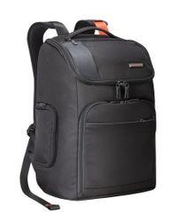 Briggs & Riley - Black 'verb - Advance' Water & Wear Resistant Ballistic Nylon Backpack for Men - Lyst