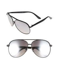 Quay - Black 'macaw' 65mm Aviator Sunglasses for Men - Lyst
