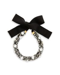 Lizzie Fortunato - Black African Sky Crystal Collar Necklace - Lyst