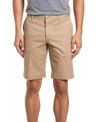 Lacoste - Natural Slim Fit Chino Shorts for Men - Lyst