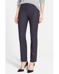 NIC+ZOE   Blue The Perfect Ankle Pants   Lyst