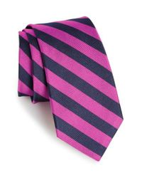 Gitman Brothers Vintage | Purple Stripe Silk Tie for Men | Lyst