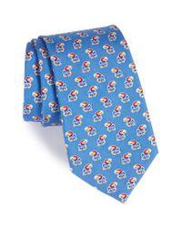 Vineyard Vines   Blue University Of Kansas Silk Tie for Men   Lyst