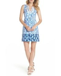 Lilly Pulitzer - Blue Lilly Pulitzer Harper Shift Dress - Lyst