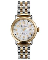 Shinola | Metallic 'the Runwell' Bracelet Watch | Lyst