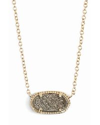 Kendra Scott | Metallic Elisa Pendant Necklace | Lyst