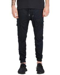 Zanerobe - Black Sureshot Cargo Jogger Pants for Men - Lyst