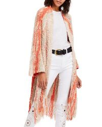 Free People Multicolor Desert Daze Cardigan
