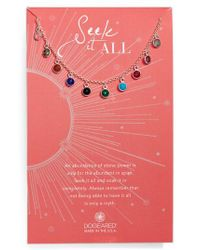 Dogeared - Metallic Seek It All Pendant Necklace - Lyst