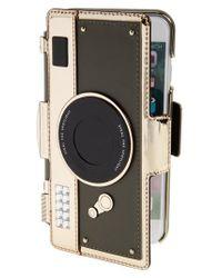Kate Spade | Multicolor Camera Folio Iphone 7 Case - Metallic | Lyst