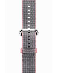 Casetify - Pink Nylon Apple Watch Strap for Men - Lyst