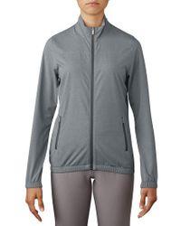 Adidas - Gray Essential Golf Wind Jacket - Lyst