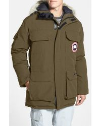 Canada Goose | Black 'expedition' Relaxed Fit Down Parka for Men | Lyst
