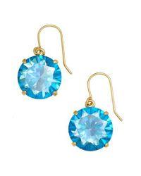 Kate Spade - Blue 'shine On' Drop Earrings - Lyst