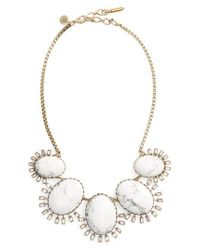 Loren Hope - Metallic Frontal Necklace - Lyst
