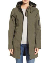 Ilse Jacobsen - Green Regular Fit Hooded Raincoat - Lyst