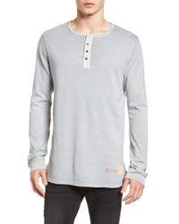 Scotch & Soda - Multicolor Granddad T-shirt for Men - Lyst