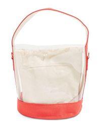 TOPSHOP - Natural Bucket Bag - Lyst