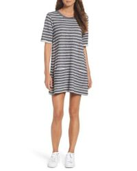 French Connection - Multicolor Normandy Stripe T-shirt Dress - Lyst