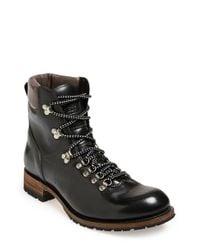 Sendra | Black 'alpine' Round Toe Boot for Men | Lyst