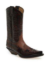 Sendra   Brown 'duke' Western Boot for Men   Lyst