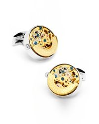 Ox and Bull Trading Co. | Metallic Watch Movement Cuff Links for Men | Lyst