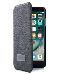 Ted Baker - Gray Iphone 7 & 7 Plus Card Slot Folio Case - Lyst