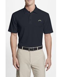 Cutter & Buck | Blue 'san Diego Chargers - Genre' Drytec Moisture Wicking Polo for Men | Lyst