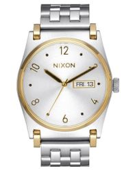 Nixon - Metallic 'jane' Bracelet Watch for Men - Lyst