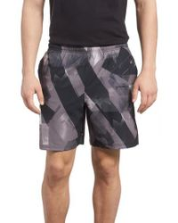 Under Armour Black Launch Running Shorts for men