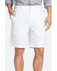 Vineyard Vines | White 'summer' Classic Fit Lightweight Cotton Twill Shorts for Men | Lyst