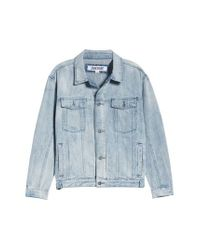 Zanerobe - Blue Snitch Denim Jacket for Men - Lyst