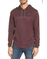Hurley | Purple Dri-fit Hoodie for Men | Lyst