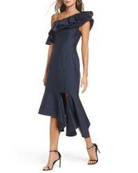 Keepsake   Blue Night Lights Midi Dress   Lyst