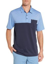 Travis Mathew | Blue The Lute Jersey Polo for Men | Lyst