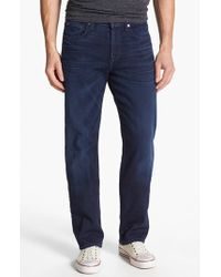 7 For All Mankind | Blue 7 For All Mankind 'carsen - Luxe Performance' Easy Straight Leg Jeans for Men | Lyst