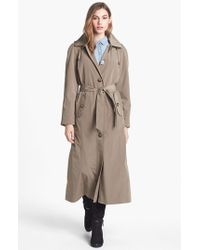 London Fog | Black Long Trench Coat With Detachable Hood & Liner | Lyst