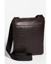 Ferragamo | Brown 'gamma' Shoulder Bag for Men | Lyst
