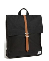 Herschel Supply Co. | Black 'city - Mid Volume' Backpack | Lyst