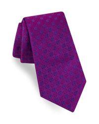 Ted Baker   Purple Sundial Medallion Silk Tie for Men   Lyst