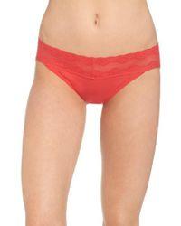 Natori - Red Bliss Perfection Bikini - Lyst