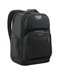 Briggs & Riley   Black 'medium' Ballistic Nylon Backpack for Men   Lyst