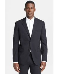 Theory | Black 'wellar New Tailor' Trim Fit Wool Blend Sport Coat for Men | Lyst