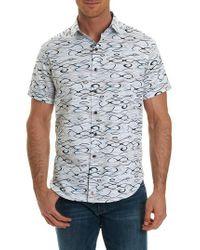 Robert Graham - White Illusions Classic Fit Sport Shirt for Men - Lyst