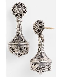 Konstantino | Metallic 'classics' Filigree Drop Earrings | Lyst