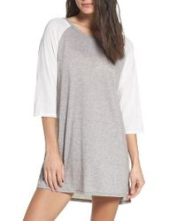Honeydew Intimates - Gray Jersey Sleep Shirt - Lyst
