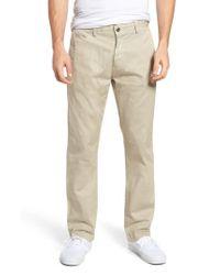 Original Paperbacks - Natural Belmont Stretch Chino Pants for Men - Lyst
