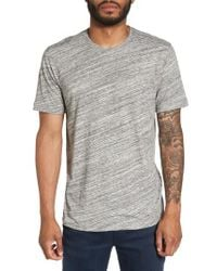 Calibrate | Gray Texture T-shirt for Men | Lyst
