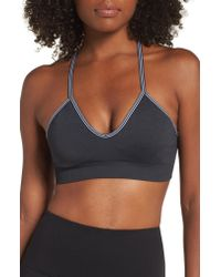 Sweaty Betty - Black Shanti Yoga Bra - Lyst